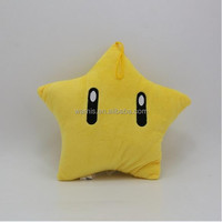 wns-z0021 Hot Super Mario plush dolls Plush toys Soft kawaii Stuffed Plush Animals 30cm Smiling face yellow Stars