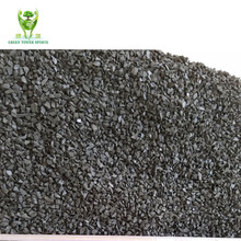 Black recycled SBR rubber granules for infill artificial grass