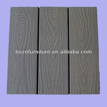 Plastic wood theme park waterproof floor covering SGS test