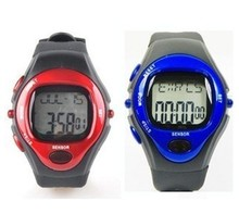 3 colors Sport Heart Pulse Rate Calorie Counter Watch+Monitor