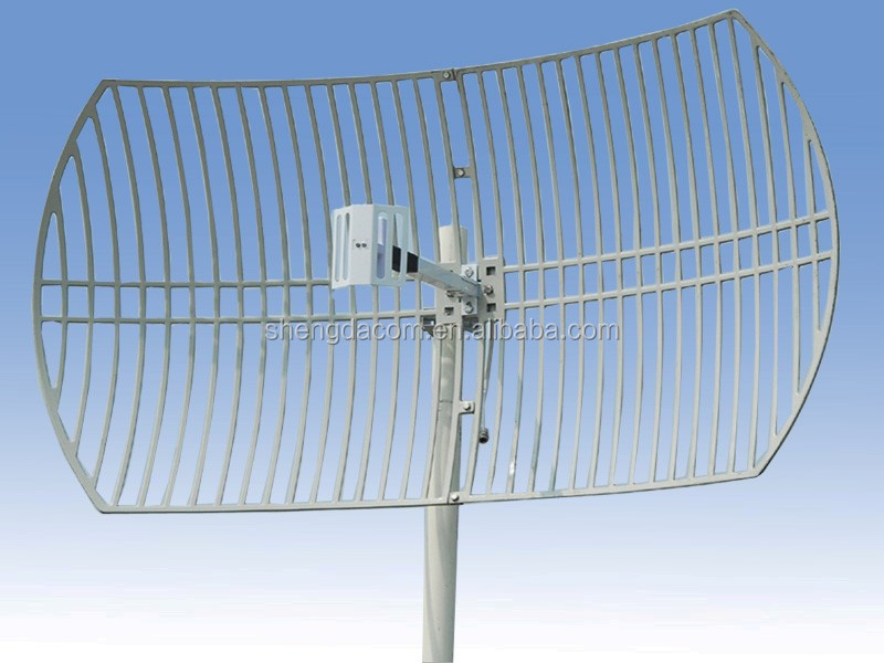 High performance 2.4ghz 25db outdoor wifi wimax sector parabolic antenna