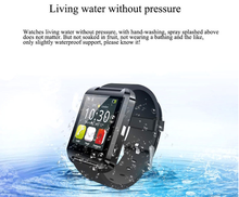 Android cheap bluetooth mobile phone watch Wristband digital bluetooth watch Waterproof Bluetooth Smart Watch