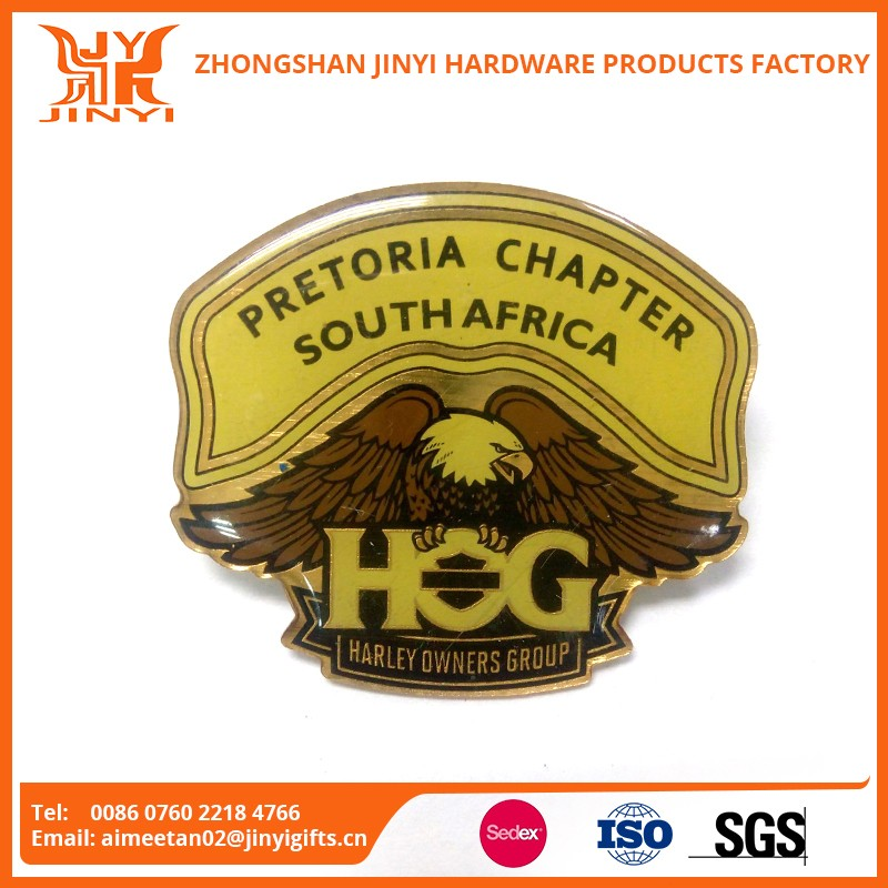 Factory direct sale personalized design cheap metal badge