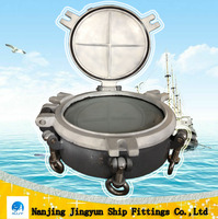 round window for ship with cover