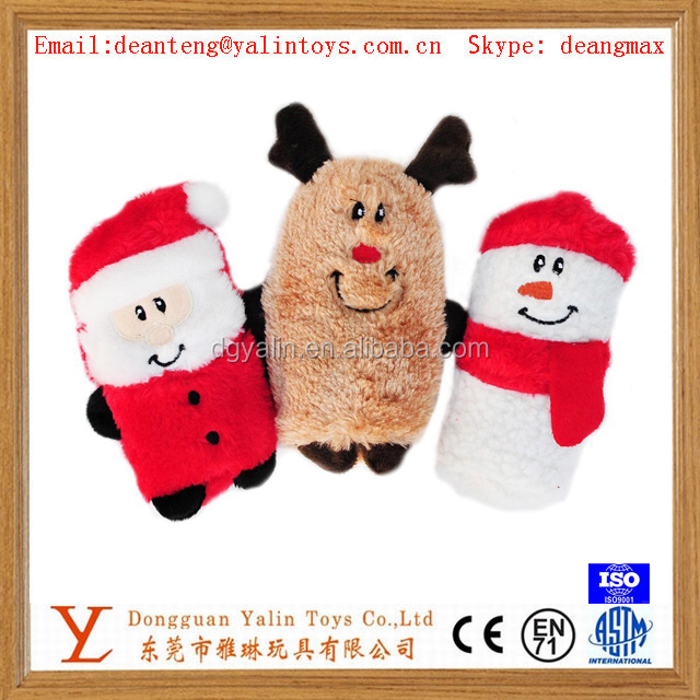 Christmas plush toy talking toy for gift