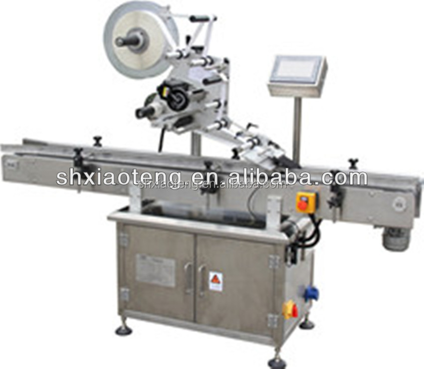 PM-200 hot melt labeling machine for double sides bottles pvc label making machine