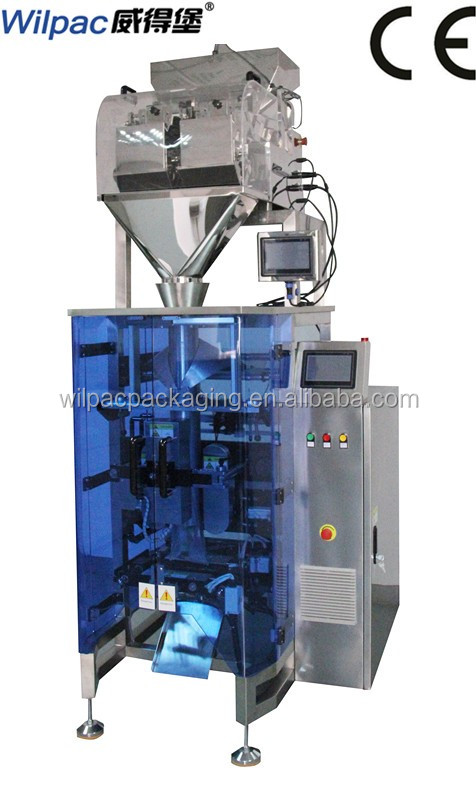 Foshan factory price high speed collar type glutinous rice flour powder packing machine with single servo motor system and CE
