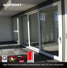 US certified and Australia certified thermal rated and acoustic aluminium sliding door