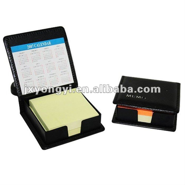 custom sticky notes with PU box