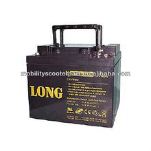LONG Rechargeable Seal Lead Acid Battery 12V 50Ah Electric Scooter Battery 12V50Ah for old people