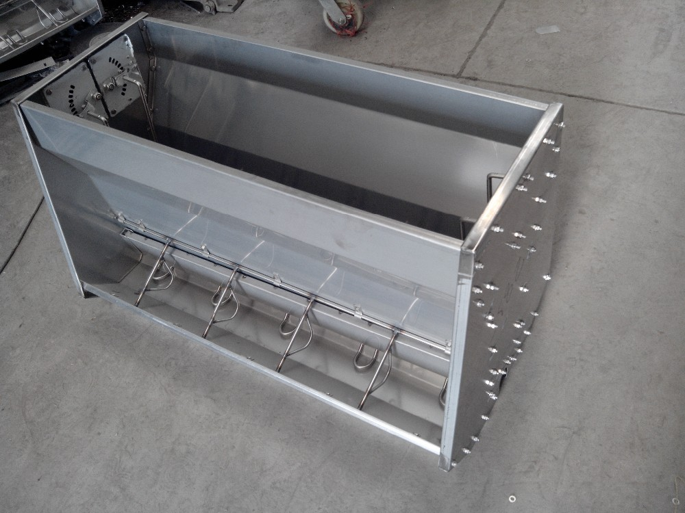 stainless steel two double side feeder deba pig equipment