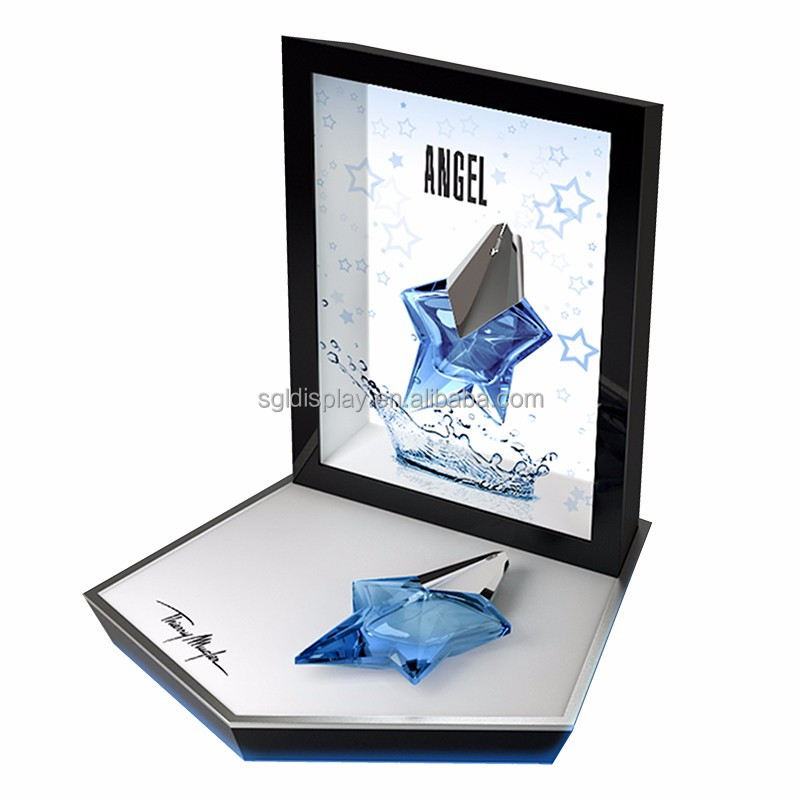 transparent lcd display jewellery display showcase