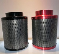 inline filter manufacturer 4 inch small size exhaust fan for per filter