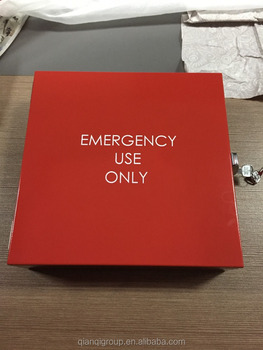 2016 First aid metal box/cabinet/kit emergency use only