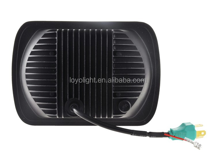 "Newest 105W 85W 5x7 inch led head light projector Replacement square 7"" sealed beam headlight for truck"