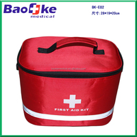 BK-E02 Survival Kit First Aid Kit with medical devices / Car Emergency Roadside Assistance Tool Kit