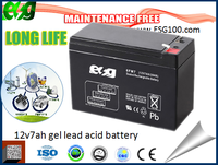 made in china battery 12v 7 ah AGM BATERY ups battery Lead Acid battery 12v 17ah for solar system