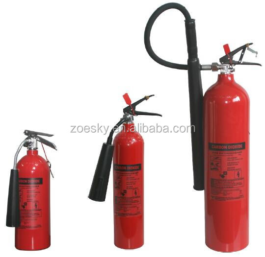 China Co2 Alloy Steel Fire Extinguisher With CE Certificate