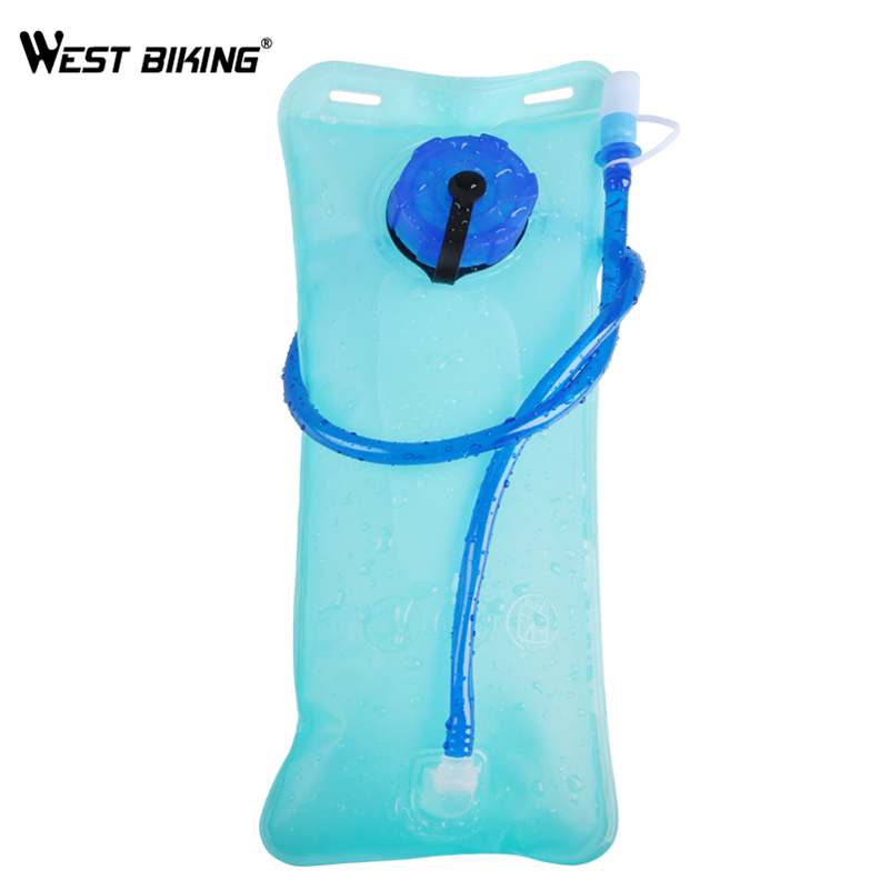 West Biking 2 LTPU Water Bag MTB Mountain Road Bike Bicycle Running Sport Hiking Water Bottle Bag
