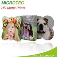 photography print on metal