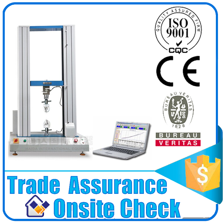Lab Material Universal Tensile Strength Tester for Wire and Cable