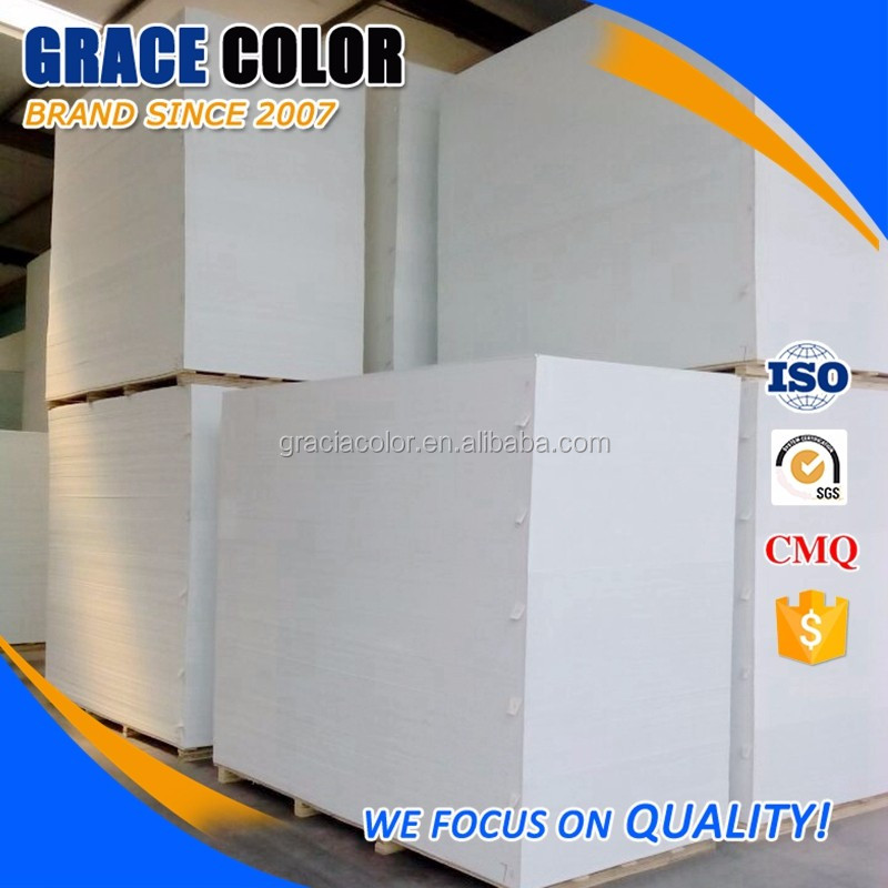 High density plastic foam 3mm thick sell black/white pvc foam sheet