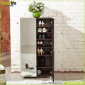 Goodlife hot selling modern glass shoe cabinet from Guangdong