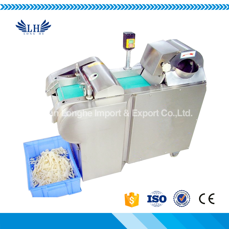 New Arrival Commercial Industrial Vegetable Cutting Machine / Vegetable Dicer Slicer