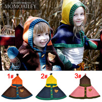 MZ1560 Lovely baby winter color matching bear design knitted caps 2015