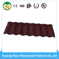 Cheap Milano tiles sand coated metal roof tiles made in China