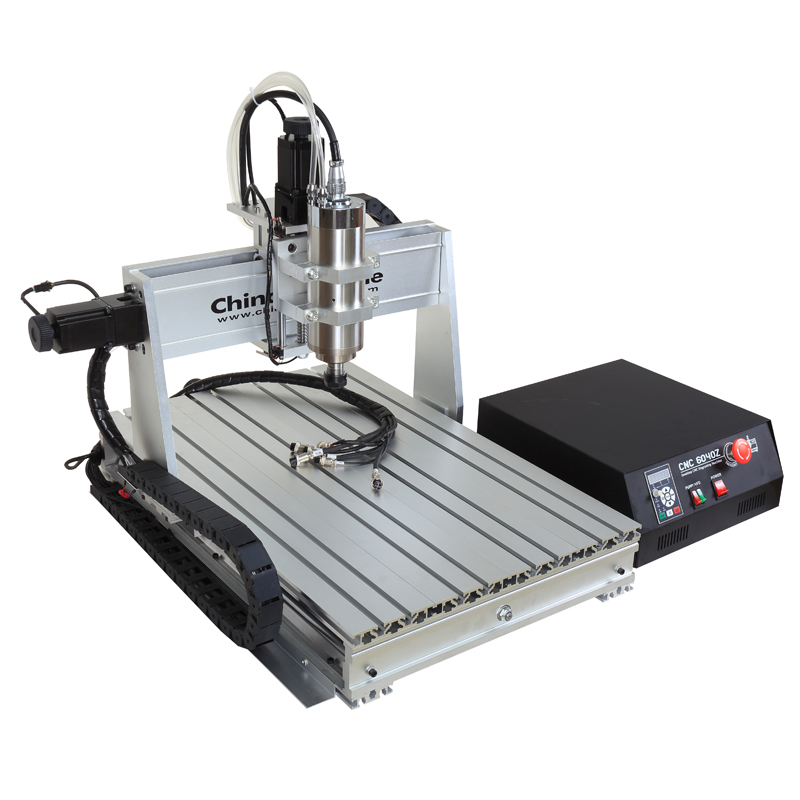 Hot selling portable mini <strong>3</strong> Axis 4 axis 6040 cnc milling router machine