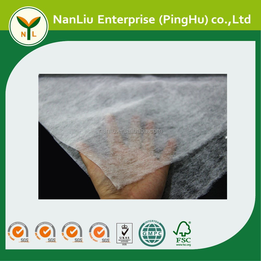 High Quality PP White Thermal Bonded Nonwoven Fabric for Pet/Interlining