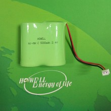 aa900mAh 2.4v nicd battery pack