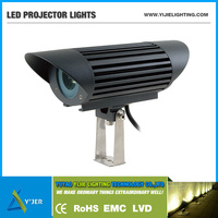 YJX-0035 IP65 PF0.9 RGB high power 20W led left and right light up and down wall spot projector led flood light