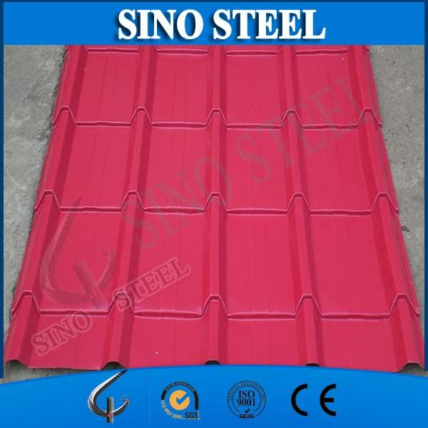 Environmental building construction material/corrugated color steel sheet