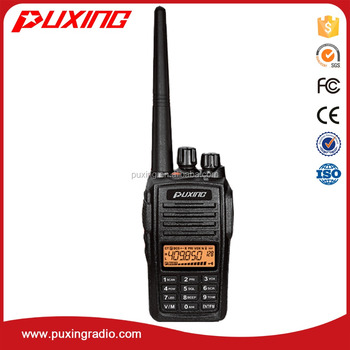 NEW-PX-568 FM UHF/VHF 5w uhf Walkie Talkie
