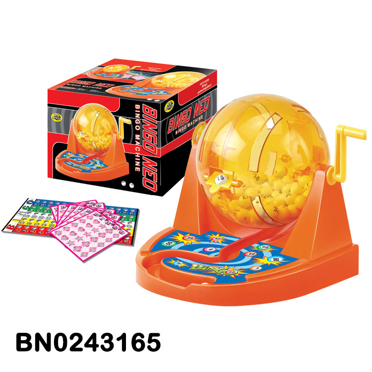 Popular Toys Game Kid Lottery Machine Bingo Play Set