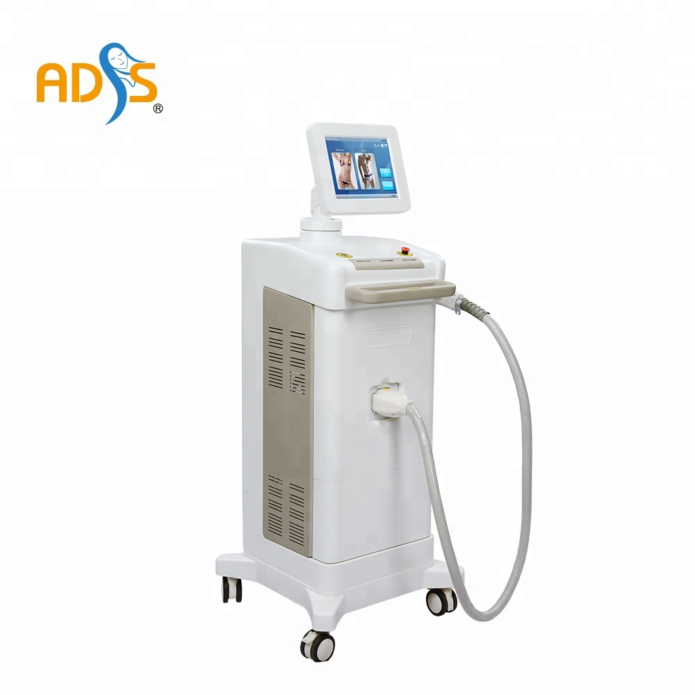 ADSS Germany bars permanent hair removal 808 diode laser hair removal big spot size 22*35mm beauty machine