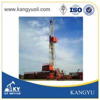 High quality standard API 1000hp land oil drilling rig