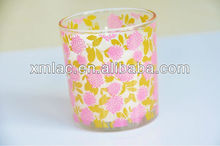 Branded personalized fruit scented candles with printing logo