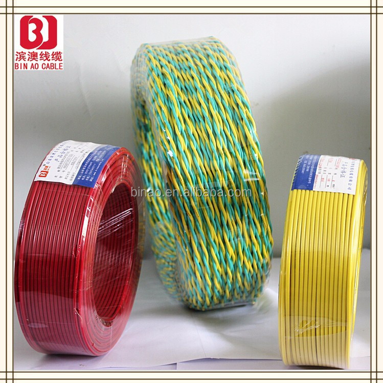 PVC insulation material and 300/500V aluminum electrical wire,electrical wire flat cable