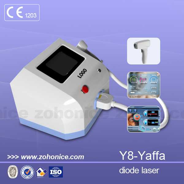 Y8 Quality diode laser 810nm/808nm permanent no no hair/hair removal
