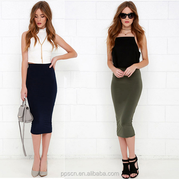 OEM/ODM supply Ladies midi skirt pattern , sexy girls& women long maxi lady skirt wholesale China