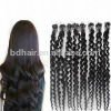 hot sell black micro loop ring hair extension/kinky hair extension for wholesale