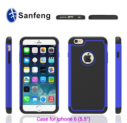 3 pieces shockproof case for apple iphone6 plus