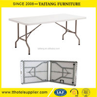 Durable Plastic Folding In Half Table Wholesale