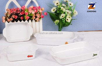 Promotional Gifts Cheap Price Ceramic Bakeware Ceramic Baking Dishes and Plates