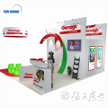 Detian offer trade show exhibit display display exhibition equipment