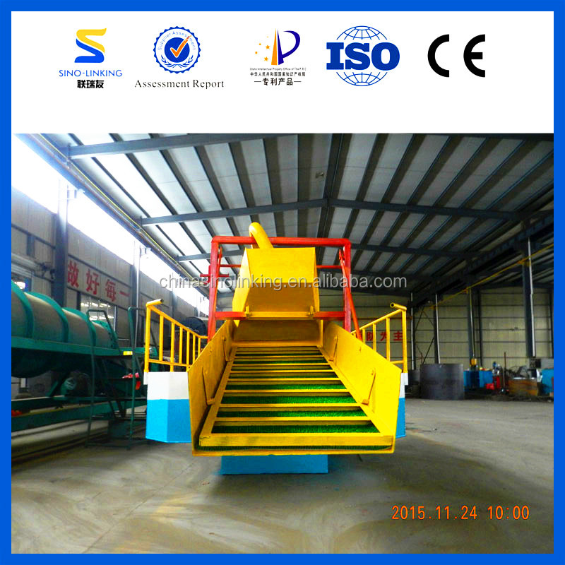 SINOLINKING Gravity Gold Extracting Dredge Boat with Sluice from China