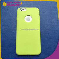 TPU soft case back cover color for iphone 6 6s